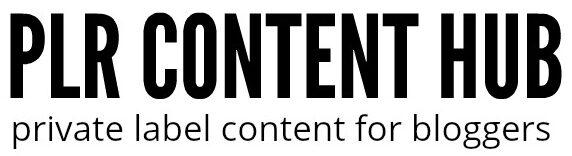 PLR Content Hub