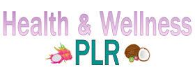 Health and Wellness PLR Logo